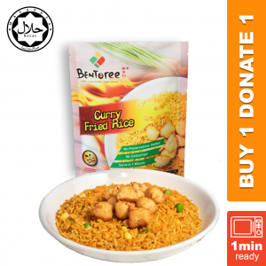 Bentoree Curry Fried Rice 210g