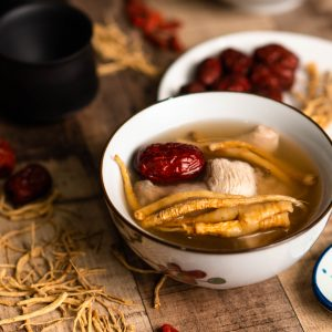参须炖鸡汤 Ginseng Chicken Soup 380g
