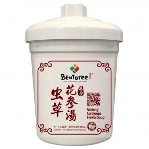 虫草花参汤 Ginseng Cordyceps Flower Soup 380g